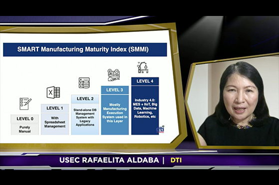 eManufacturing and eLogistics Rafaelita Aldaba DTI